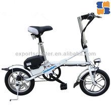 2015 newest Dutch bike mini folding electric bike with lithium battery portable bike