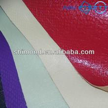 Patent and grain design glitter bag leather