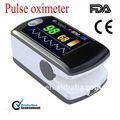 Dedo oxímetro de pulso ce& certificado por la fda color modelo de pantalla de cms50e