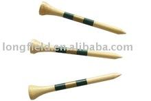 Bamboo golf tees