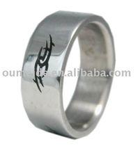 OEM/ODM Metal Factory Stainless steel ring Fashion Rings 2012