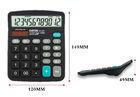 12 digits big lcd display dual power electronic counter calculator