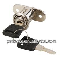 zinc alloy push lock (YM106)