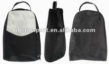 Black Nylon Golf Shoes Bag