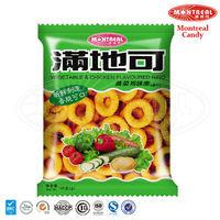 Vegetable & Chicken Flavoured Rings (Snack food)