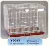 foldable dog cage with special door
