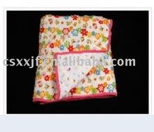 super soft Printed cotton baby blanket