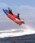 CE 6 passengers 4.3m inflatable catamaran for sale
