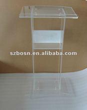 Acrylic Lectern & Rostrum,Plexiglass Podium & Dais,Lucite Pulpit & Platform