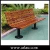 Park Wooden Bench Outdoor Park Bench Steel Frame