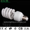 half sprial energy saving light , energy saving lamp, energy saving bulb, the leading lighting manufacturer of China JINSHUN