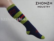 Women nylon professional design arch support knee sport / outdoor / hiking socks