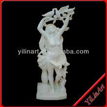 Beautiful Classic Decorative Indoor Nude Woman Statue YL-R322