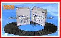 12V65ah SLA batteries for LED light