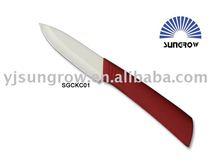 """3"""" Red Handle Zirconia Ceramic Paring Knife"""