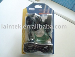 usb 2.0 computer pc camera with microphone in blister package