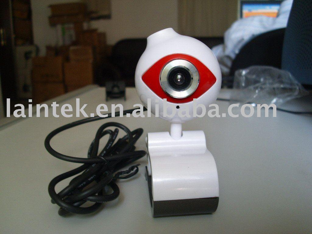 new designed white colour USB pc cam