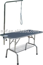 2014 Pet care product folding pet grooming table,pet grooming table with arm