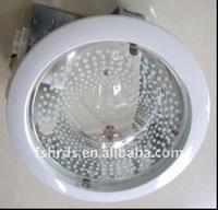 "PLC 8"" Aluminum horizontal downlight/recessed down light E27"