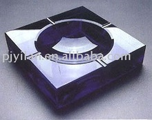 black crystal promotion ashtray promotional gift crystal cigarette ashtray