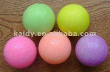 Color moth repellent ball