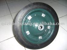 "wheelbarrow solid rubber wheel 13""x3"""