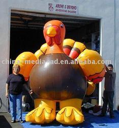 inflatable turkey cartoon