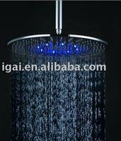 brass chrome led rain shower head GBR1205L