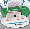 Urinal soccer style with goal net original Urinal Screen Mat
