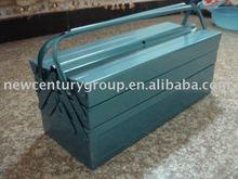 blue color Poland type metal tool box