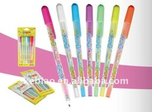 Milky Colored Pastel Gel Ink Pens Set