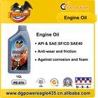 Automotive Motor Engine Oil 20W50 SF/CD
