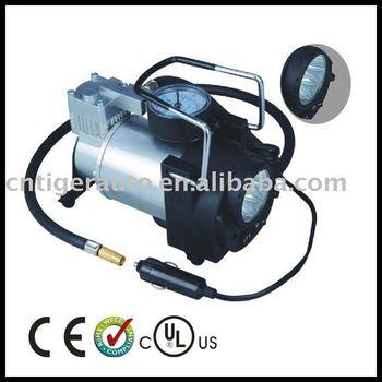 With Work Light 12v Air Compressor Car Tyre Inflator