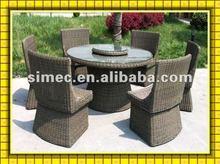 wicker rattan dining room furniture SCTC-002
