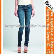 New Style Patterned Women Sexy Skinny Tight Jeans (HY5549)