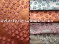 Dots jacquard window curtain fabric design