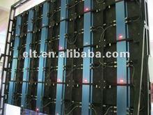 2012 new product slim aluminum indoor LED display( High top)
