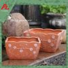 Rectangular terracotta pots wholesale