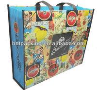 china 100% Recycle PP Non Woven Matt Laminated Bag