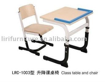 kids school adjustable chair and desk furniture