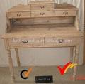 Shabby chic en bois coiffeuse meubles