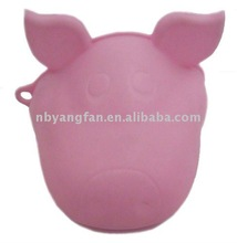 silicone pig Oven Mitts