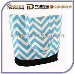 wholesale canvas beach bag in new design
