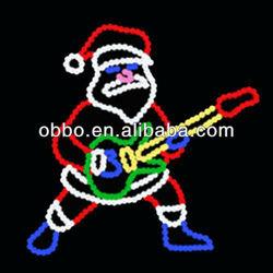 2013 christmas decorative lights/led santa claus motif