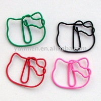 P157 s cute Hello Kitty shaped paper clip
