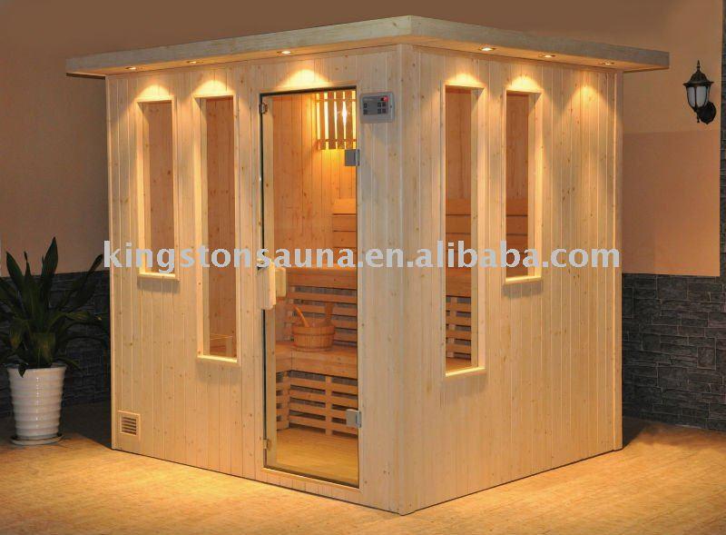 6 people outdoor dry sauna cabin house view 6 people - Tipos de saunas ...