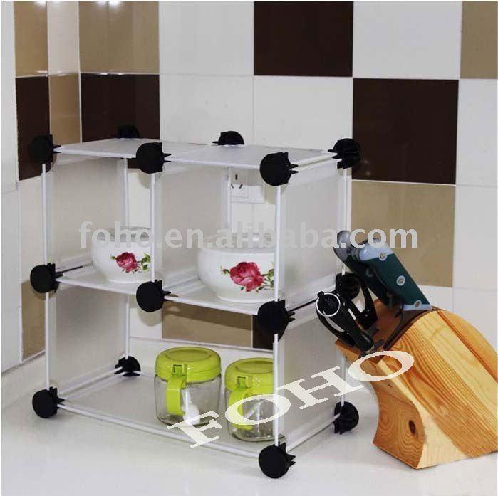 Organizador De Baño Easy:blanco organizador de la cocina fácil tienda rueda, Placas y taza de