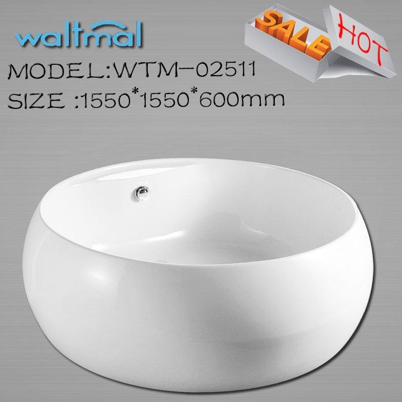 Classique ronde couverte spa baignoire wtm 02511 baignoire for Baignoire classique prix