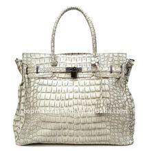 2012 newest fashion lady handbag in Grey color