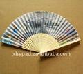 promosyon bambu katlama fan şapkalar